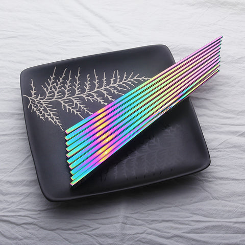 Stainless Steel Rainbow Chopstick