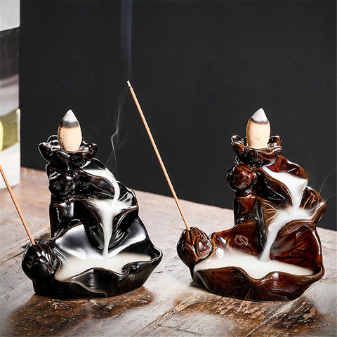 PeaceFlow - Premium Backflow Incense Burner
