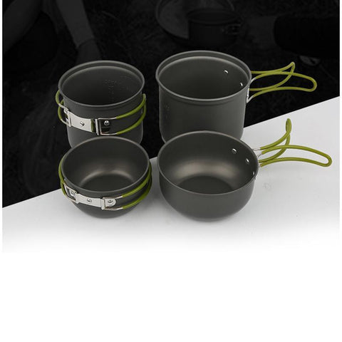 Premium Outdoor Cookware Set