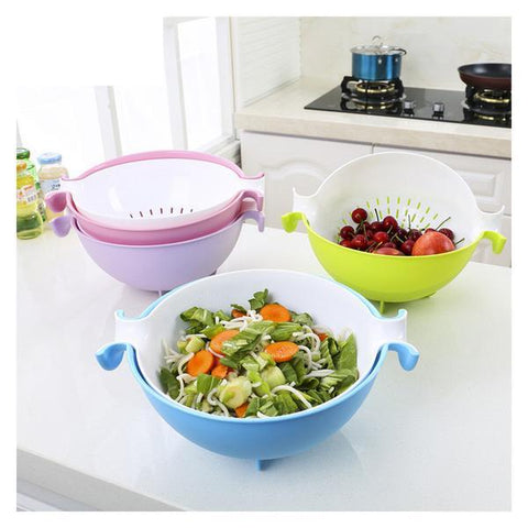 Gravity Bowl & Colander Set