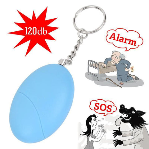 Egg Shaped Personal Emergency Alarm