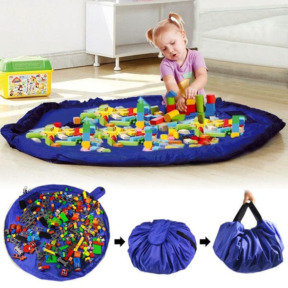 SlideGo™ Play Mat Toy Storage Bags