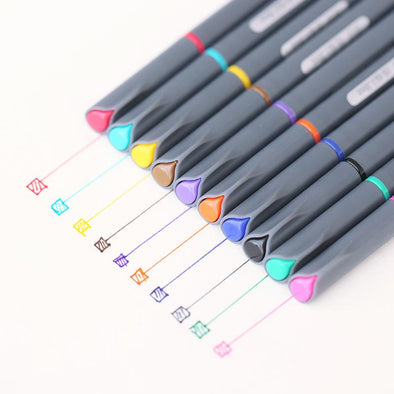 Gel Drawing Pen 10 pcs Set