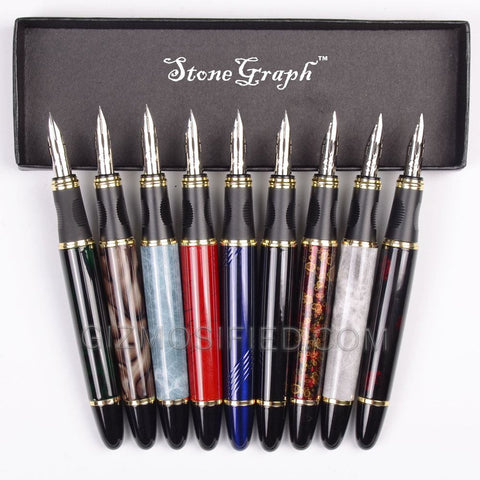 StoneGraph - Executive Flexible Nib Fountain Pen