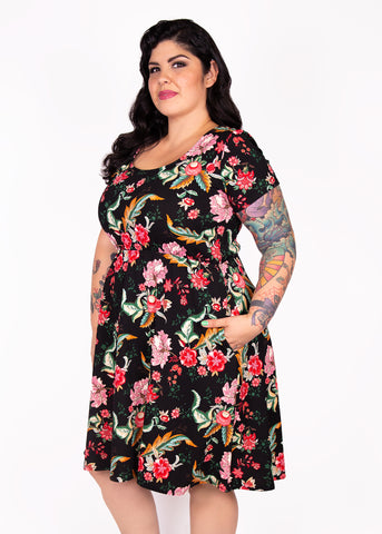 Paisley Raye Daffodil Dress