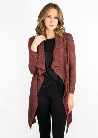 Paisley Raye Dusty Miller long cardigan