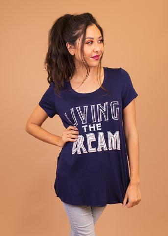 Graphic Tee - Living the Dream