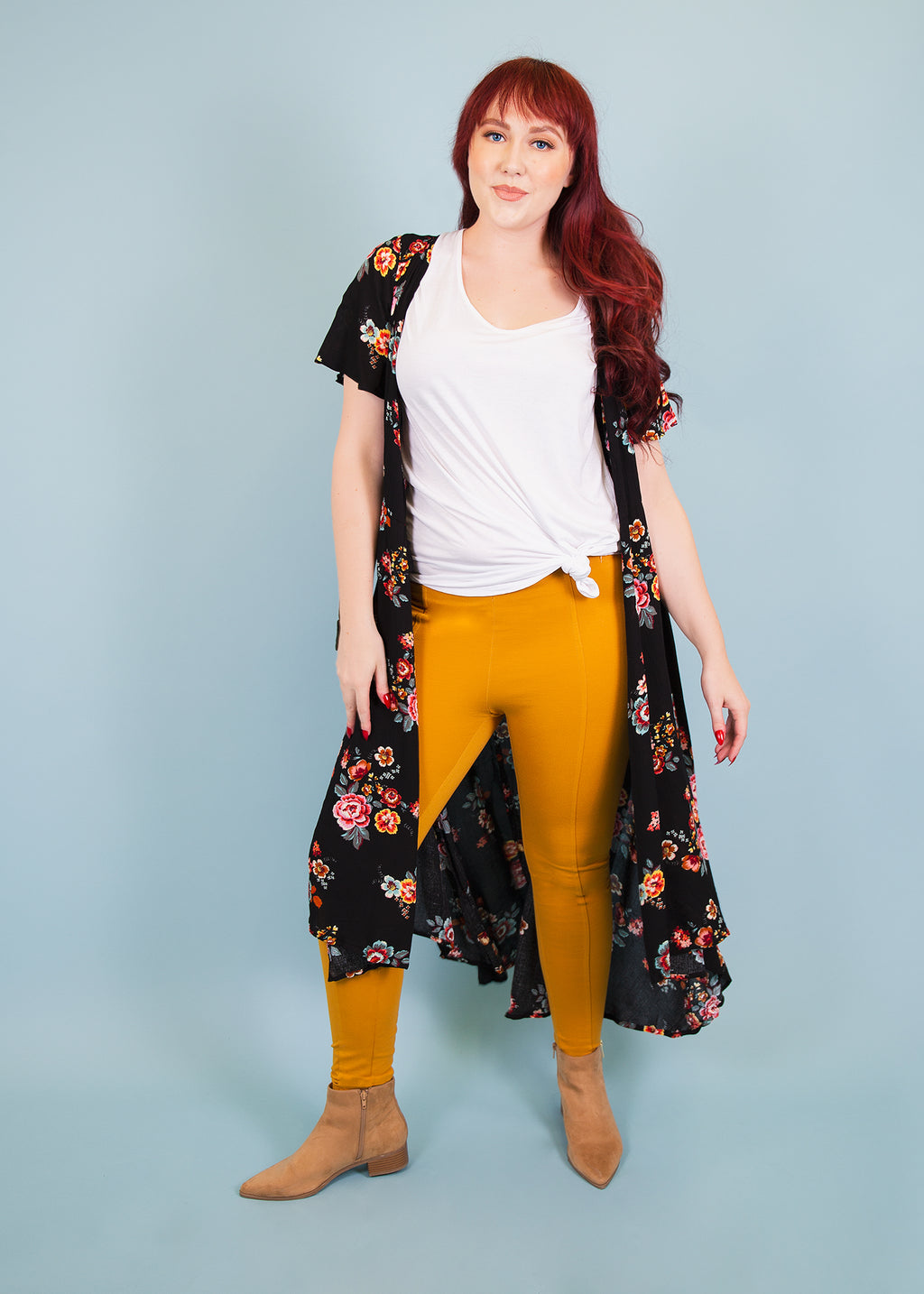 Paisley Raye Pixie Pants GOld Sunshine Mustard
