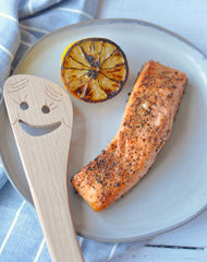 Easy Air Fried Salmon