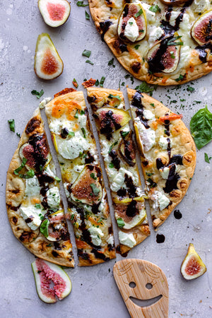 Fig Naan Flatbread