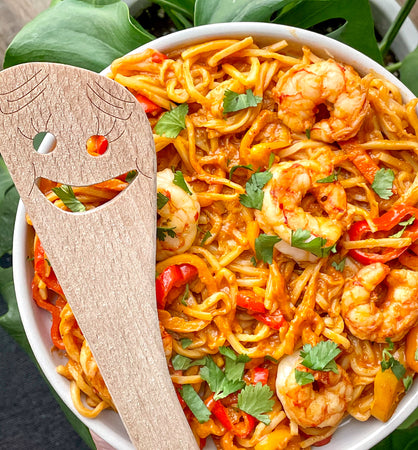 Shrimp Cajun Hearts of Palm Pasta