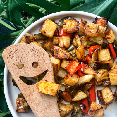 Potato Hash With Bomba Sauce