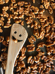 Roasted Cinnamon Sugar Walnuts