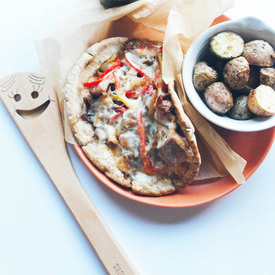 Philly Cheesesteak Pitas