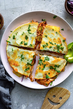 BBQ Pineapple Chicken Quesadilla