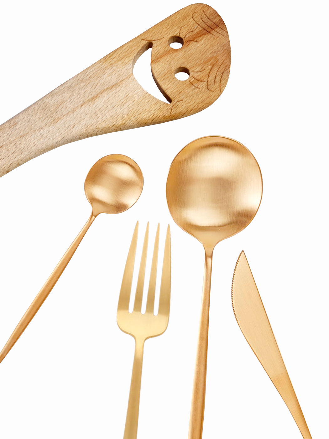16 Piece Golden Hour Flatware