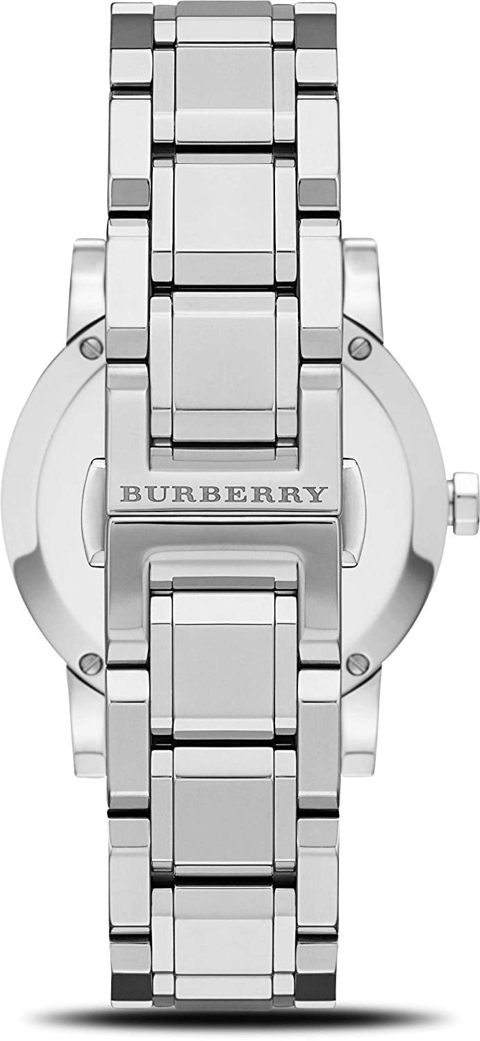 75c4427a3169 Burberry Diamond Accent Stainless Steel Ladies Watch BU9125 – North ...