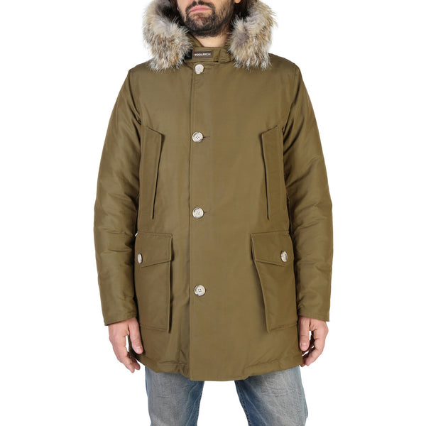 Woolrich Woolrich - WOCPS2880 Brand_Woolrich, Category_Clothing, Color_Green, Gender_Men, Season_Fall/Winter, Subcategory_Jackets Clothing Jackets 8051365018577 Threesixty Clothing