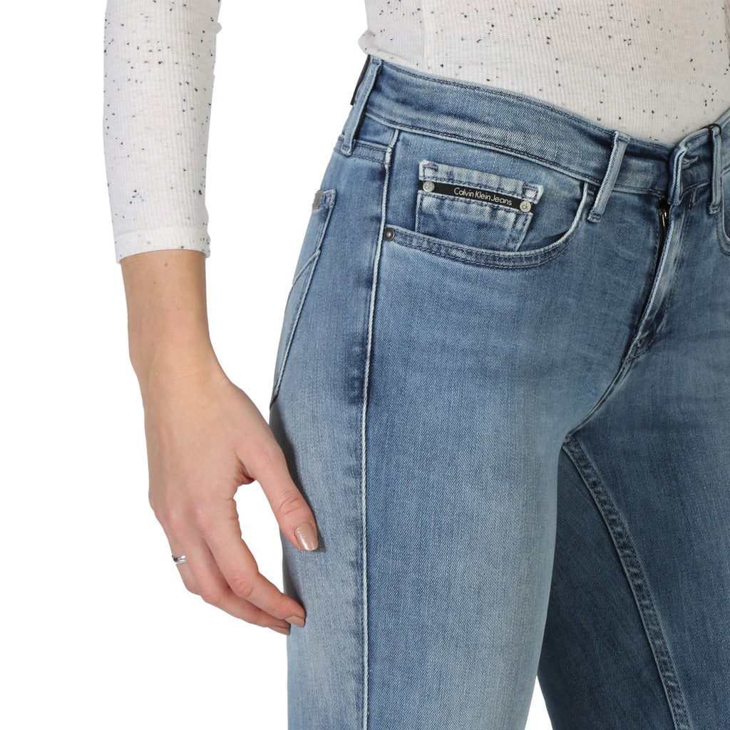 Calvin Klein Calvin Klein - J2IJ204379 Brand_Calvin Klein, Category_Clothing, Color_Blue, Gender_Women, Season_All Year, Subcategory_Jeans Clothing Jeans 8718933638161 Threesixty Clothing