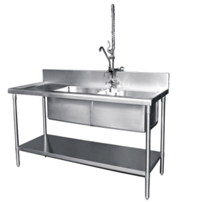 SINKS, PREP TABLES & TAPS