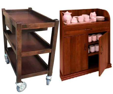 TROLLEYS & CABINET