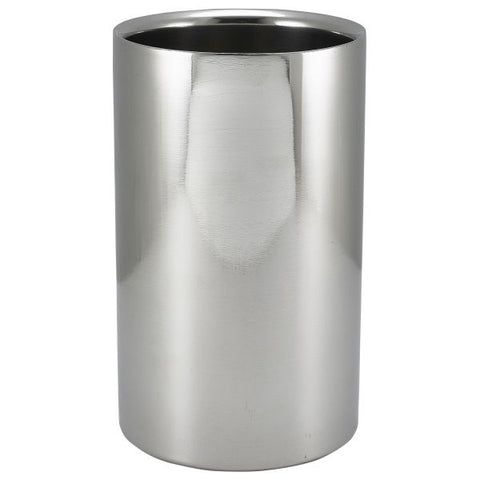 Polished St/St Wine Cooler 12 Dia X 20cm H - Euro Catering UK Ltd