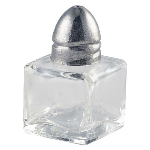 Individual Glass Salt Pot 30 x 30 x 50mm - Euro Catering UK Ltd