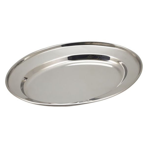 "S/St Oval Flat 9"" - Euro Catering UK Ltd"