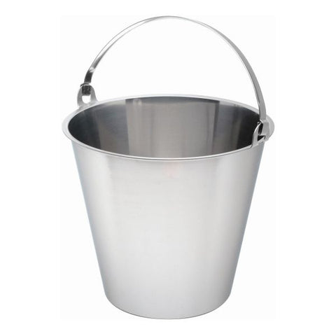 Swedish S/St. Bucket 12 Litre Graduated