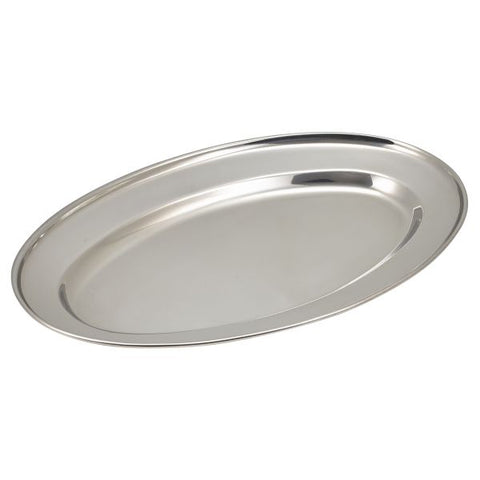 "S/St.Oval Flat 14""(11464) ** - Euro Catering UK Ltd"