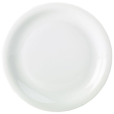 Royal Genware Narrow Rim Plate 16cm - Euro Catering UK Ltd
