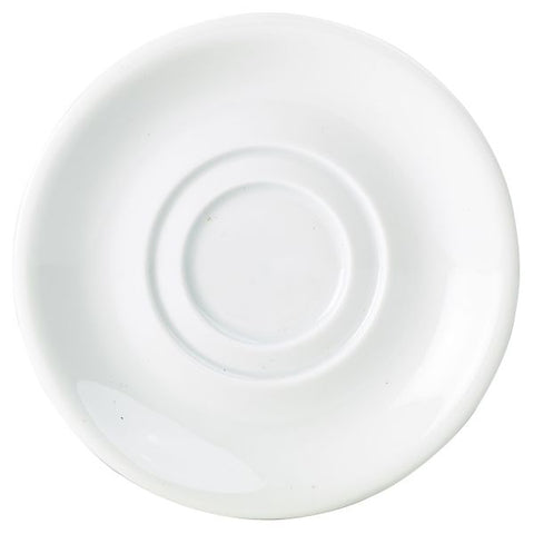 Royal Genware Double Well Saucer 15cm (132116) - Euro Catering UK Ltd