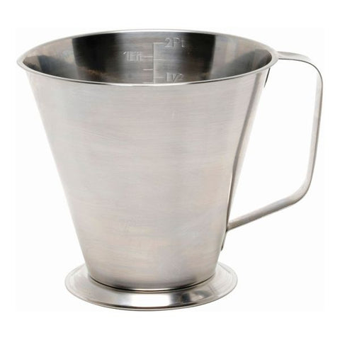 S/St.Graduated Jug 2L/4Pt. - Euro Catering UK Ltd
