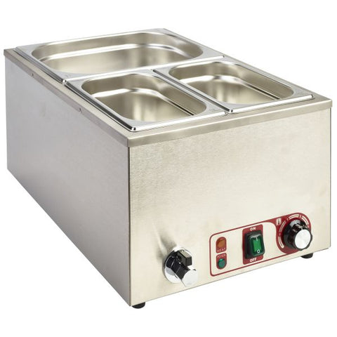 Bain Marie 1/1 With Tap 1.2Kw - Euro Catering UK Ltd