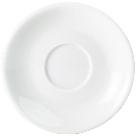 Royal Genware Saucer 16cm For 25cl/34cl Cups - Euro Catering UK Ltd