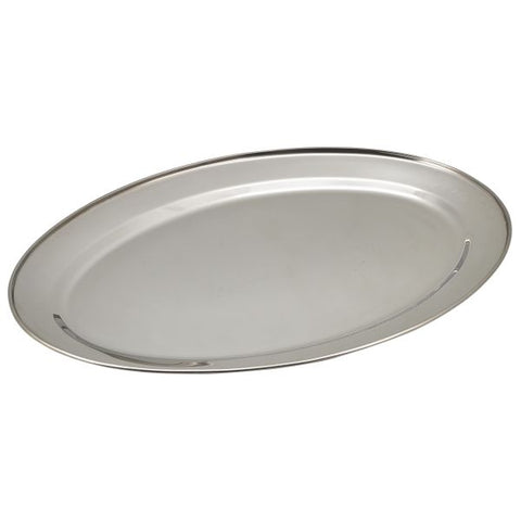 "S/St Oval Flat 22"" - Euro Catering UK Ltd"