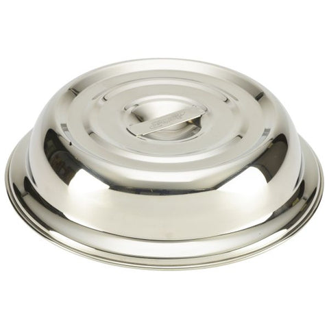 "Round S/St. Plate Cover For 10"" Plates - Euro Catering UK Ltd"