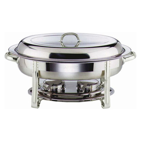 Chafing Dish Set Oval 32X54X30cm - Euro Catering UK Ltd