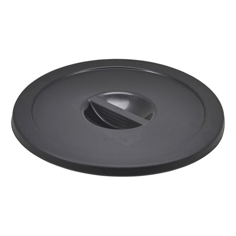 Black Dust Bin Lid - Euro Catering UK Ltd
