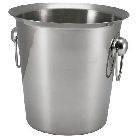 S/St.Wine Bucket With Ring Handles - Euro Catering UK Ltd