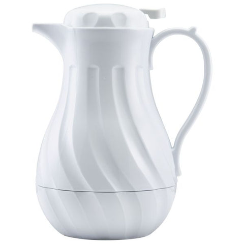 Beverage Server White 40oz 1.2 Ltr