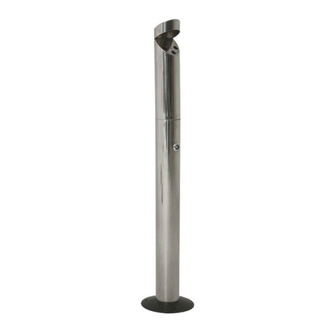 Genware Floor-Mounted St/St Smokers Pole 92cm