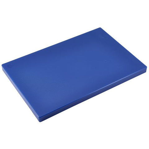 Blue Poly Cutting Board 18 x 12 x 0.5""