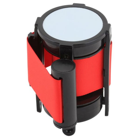 Genware Barrier Post - Retractable Red Belt