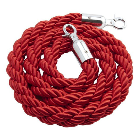 Barrier Rope Red - Use W/ Code BP-RPE - Euro Catering UK Ltd