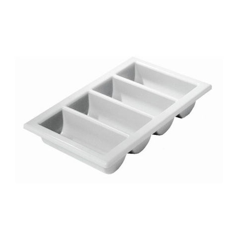 "Cutlery Tray/Box 1/1 13"" X 21"" Grey"