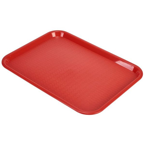 Fast Food Tray Red Large - Euro Catering UK Ltd