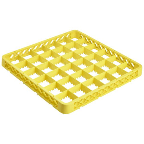 Genware 36 Compartment Extender Yellow