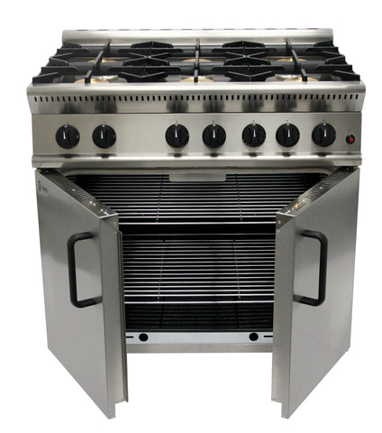 Parry, 6 burner cooker