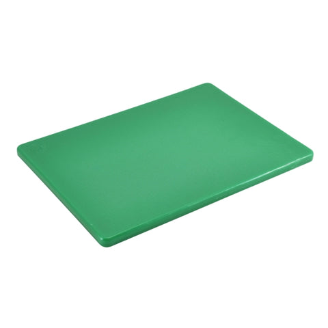 "High Density Cutting Board 18 x 12 x 0.5"" Green"